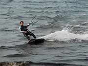 Kiteboarding in France