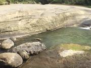 Rocks and Flowing River