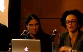 NYU PRESS CONFERENCE with Yoani Sanchez
