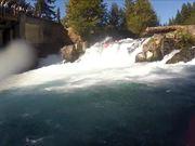 Husum Falls Edit, White Salmon River