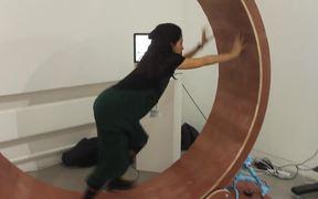 The Human-sized Hamster Wheel