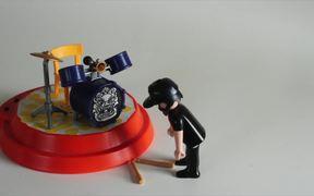 Stop Motion Drummer