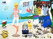 Celeste Beach Dressup