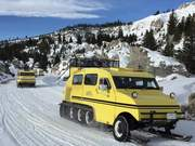 Yellowstone Bombardier Snowcoaches