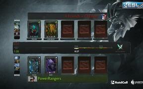 DOTA 2: Power Rangers vs 4FC | RaidCall EMS One