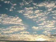 Morning Sky in Time Lapse