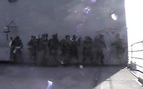Navy Seal Training Workout at Sea