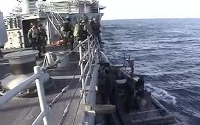 Navy Seal Training Workout at Sea