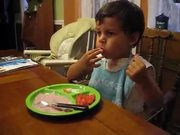 Kid Eating