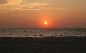 Burma Beach Evening