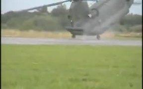 Helicopter Emergency Landing Demonstration