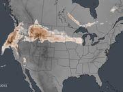 Wildfire Smoke Spread Across the U.S.