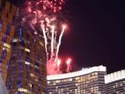 Fireworks in Vegas