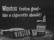 Classic Commercial Winston Cigarettes