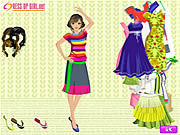 Full of Color Dressup