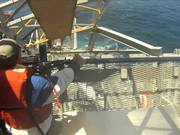 355-foot 700 Ton Ship Turns into the Sea